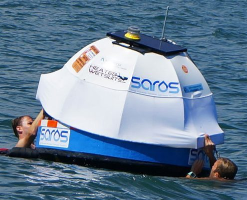 SAROS - wave power desalination technology